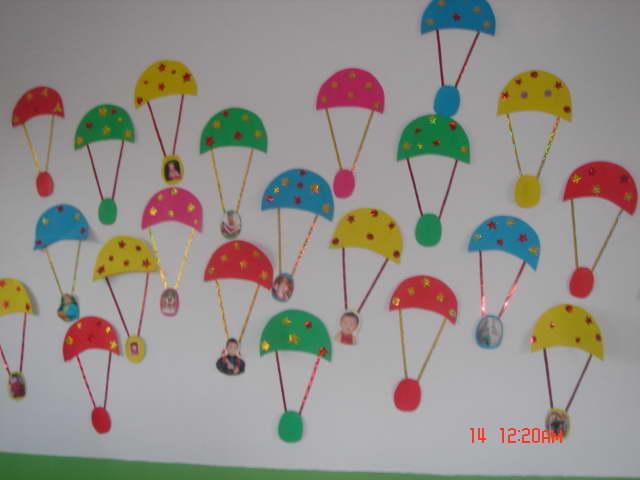 幼儿园环境布置吊饰幼儿园走廊吊饰布置幼儿园走廊吊